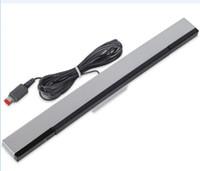 Yedek Kablolu Uzaktan Hareket Sensörü Bar Kızılötesi Ray İndüktör Alıcı Wii U Konsolu Perakende Paketi Kutusu için Standları Q1