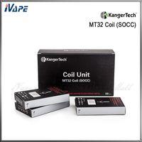 本格的なKangertechの単一の有機コットンのコイルの交換のカンガーのSOCCコイルユニットMT32コイルはEvod Partank Partank 2 Mini Partank 2 Evodのためのコイル