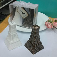 Newest Eiffel Tower Ceramic Salt and Pepper Shakers Wedding ...