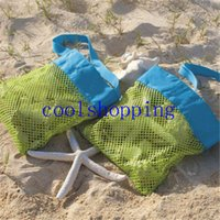 Vogue Mesh Tote Bag Clothes Toys Carry All Sand Away Beach B...