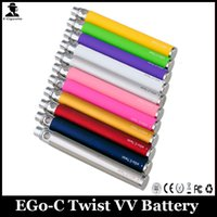 Batterie de cigarette EGO C Twist VV Variable Tension 650 900 1100 3.3v-4.8v E