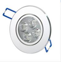 4 * 3W 12w LED Decke beleuchten unten Innenpunkt-Lampen Wechselstrom 85-265V warmes weißes / kühles Weiß Freies Verschiffen