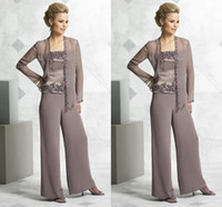 Fashion Mother' s Suit mother of the bride pant suits ch...