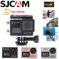 Original SJCAM SJ6 Cámara de deportes WiFi 4K 24fps Cámara Ultra HD a prueba de agua Notavek 96660 Cámara de acción a prueba de agua Pantalla táctil de 2 pulgadas
