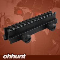 """Tactical 1 """"Hight 14-slot Ver Através de Tamanho Completo AR Riser Mount 20mm Tecelão Picatinny Rails fit AR15 Rifles"""