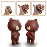 Brown Bear Squishy Animal Squishies Kawaii Cartoon Rebound C...