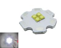 CREE XB-D XBD 9W / 12W 3 LED / 4 LEDS White 6000K / 4000K LED Light 350-700mA 20mm Darmowa Wysyłka 120 sztuk / partia