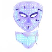 Máscara facial del rejuvenecimiento de la piel de la terapia de la luz del LED Eliminación facial del fotón del retiro del acné con el soporte profesional para el salón con la función de BIO