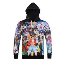 Wholesale uma peça personagem de desenho animado 3d hoodie tamanho hoody jumper e transferência térmica