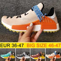 Cheap New Hu NMD HUMAN RACE Trail boost man Running shoes fo...