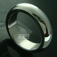 Anillo de ancho de acero inoxidable de tono de tungsteno, anillo de ancho de 7 mm R79 SZ q; u; w