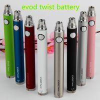 Sigaretta elettronica EVOD Twist Sigaretta elettronica Ego C Tensione variabile 650 900 1100 mah Per EVOD MT3 CE4 Atomizzatore 510 Atomizzatore Kit E sigaretta