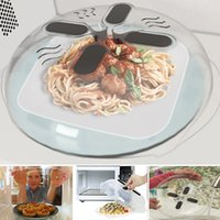 Magnetic Microwave Splatter Lid with Steam Vents Anti- Sputte...