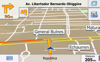L'ultima scheda di memoria di 8GB SD / TF con auto IGO Primo navigatore GPS mappa per USA, Canada, Messico