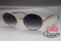 Atacado-Diamond Stainless Steel Sunglasses 7550178 Homens Sun Glasses Tamanho: 57-22-140 mm