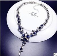 Lüks kristal parlak kısa paragraf kazak zinciri köprücük kemiği zincir kolye klavikula zinciri kadın aksesuarları kolye kolye