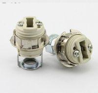 G9 램프 구슬 램프 소켓 LED 크리스탈 램프 샹들리에 홀더 G9 할로겐 블록 기본 소켓