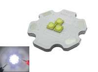 Cree XB-D XBD 9W / 12W 3 leds / 4 LED blanco 6000k / 4000k Led Light 350-700mA 20MM Envío gratis 20pcs / lot