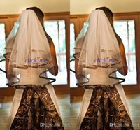 Camb Wedding Veil With Appliques Camb Edged Bridal Veil Wedd...