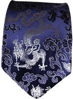 ترف نمط العرقية التنين جاكار العلاقات الصينية الراقية الحرير الطبيعي التوت الطبيعي والحرير الديباج الرجال القياسية هدايا موضة ربطات العنق
