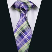 الأرجواني رجالي الحرير ربطة العنق الجاكار المنسوجة الأعمال منقوشة اجتماع العمل الرسمي التعادل كلاسيكي 8.5 سنتيمتر العرض D-0211