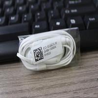 S7 Наушники-вкладыши с проводным кабелем Пульт дистанционного управления микрофоном Наушники Для Samsung Galaxy S7 / Edge S6 белый черный 2 цвета новое поступление