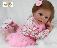 Silikon Vinyl Reborn Baby Puppe Spielzeug Festivals Brithday Geschenk Mädchen Brinquedos Spielen Haus Nette Newbaby 55 cm