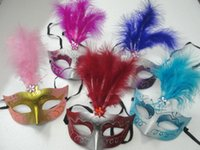 25pcs lot New! Venetian Mask Princess Party Mask Pointed Fea...