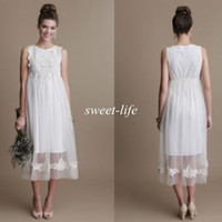 Wholesale Empire Waist Maternity Wedding Dresses Buy Cheap