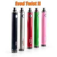 Evod Twist II 2 VV battery 1600mAh Variable Voltage 3. 3v- 4. 8...