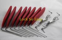 자물쇠 도구 HUK 하나의 헤드 후크 핀 자동 도어 잠금 도구에 대 한 8 + 2 pcs / 세트 자물쇠 선택 자물쇠 공급 세트