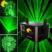 Зеленый лазер 40Kpps 1W с лазерным лучом карточки SD и светом одушевленност с случаем полета для Светов dj / света clubstage / рекламы