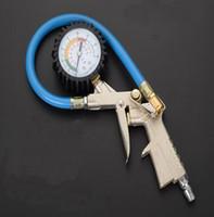 220psi Car Powietrza Ciśnienie Tester Miernik Tester Miernik Pojazd Inflacyjny Pistolet Samoblokujący Pistolet Uwykłą Inflator do Auto