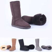 Brand boot New Design Ladies Boots Black Chocolate Sand Grey...