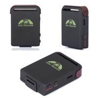 TK102B Localizzatore GPS per auto Tracker GSM / GPRS / GPS Tracker veicolo Tracker Quad Band Tracking Con slot di memoria e due batterie