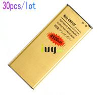 30 шт. / Лот 4500 мАч EB-BN910BBE золотой запасной аккумулятор для Samsung Galaxy Note 4 IV N910F N910H N910S N910T N910V N910A N910C N910G N910G