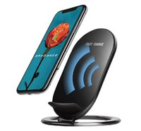 New arrived 2 Coils Qi Wireless Charger Dock Phone Chargers ...