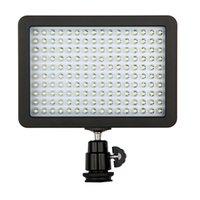 160 светодиодная лампа для видеосъемки 12W 1280LM 5600K / 3200K с возможностью затемнения для цифровых зеркальных фотокамер Canon Nikon Pentax