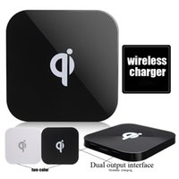 Qi Charger Q8 Wireless Charger charging Mat USB for iPhone 8...
