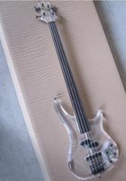 Top Quality Factory Custom 4 string crystal electric bass tr...