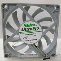 Nouveau Original pour NIDEC U80R12MUA-57 12V 0.25A 80 * 80 * 10MM 8cm ventilateur hydraulique