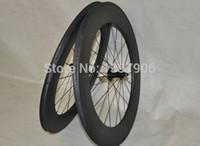 Bicicletas de estrada de carbono rodado 700c 88mm fábrica OEM clincher carbono rodas para bicicleta de estrada novatec hubs 271/372 25mm de largura bicicleta de estrada