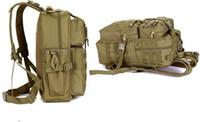 Açık Askeri Taktik Assault Camo Asker Sırt Çantası Molle Sistemi 3 Gün Yaşam Tasarrufu Bug Out Çantası Survival SWAT Polis 5 adet / grup