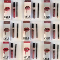 (in stock ) lowest price HOT new 43 color Kylie Lip Kit by k...