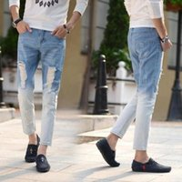 new arrival destroyed baggy jeans for men vintage jeans for ...