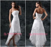 High Low Wedding Dress - Wholesale Wedding Dresses, Bridal Ball ...