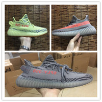 Semi Frozen Yebra 350 Boost V2 Beluga 2. 0 Grey Orange Stripe...