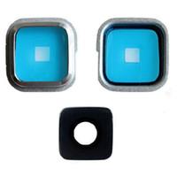 100 قطعة / الوحدة الأصلي خلفي زجاج عدسة الكاميرا الغلاف الدائري لاصق لسامسونج غالاكسي s3 s4 s5 i9300 i9500 g900f
