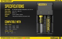 Original Nitecore I2 Controlled Intelligent Charger Battery ...