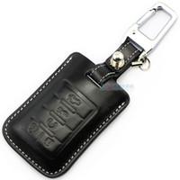 Echtes Leder Auto Key Case Deckung für Cadillac SLS SRX XLR Escalade CTS Coupe XTS ATS Sevilla Keychain Keyless Key Halter Hülle